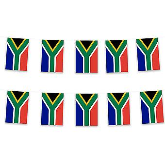 South Africa Bunting 5m Polyester Fabric Rugby Sport Country
