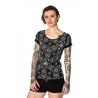 Banned - teen goth cats - t-shirt