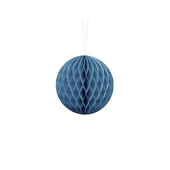 10cm Dusty Blue Tissue Paper Honeycomb Ball Wedding Party Decoration