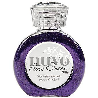 Nuvo Pure Sheen Glitter 3.38oz-Purple Organza