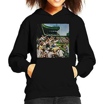 The Saturday Evening Post Baseball Catch Kid's Hooded Sweatshirt