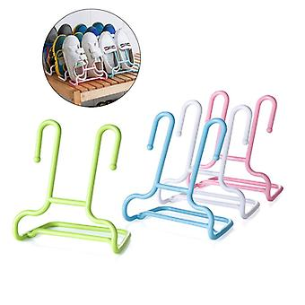 10Pcs Multi-functie Shelf Drogen Shoe Storage Rack Stand Hanger - Children Kids Shoes Opknoping Opslag Garderobe Organizer