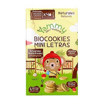 Cookies Biocookies Mini Letters 120 g