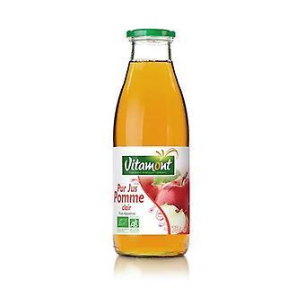 Jugo de manzana transparente puro 750 ml
