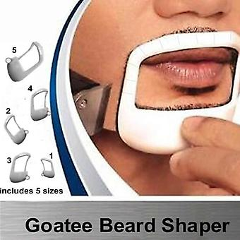 Beard Moustache Baard Goatee Shaping Template - Beard Styling Comb Care Brush