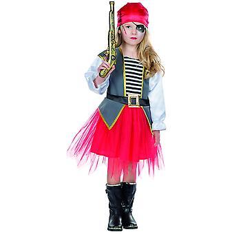 Pirate Hariette Vikings Pirates Costume d'Enfant Pirate