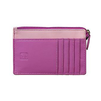 Primehide Small Leather Coin Bolsa RFID Bloqueando Womens Wallet Card Ladies 6102