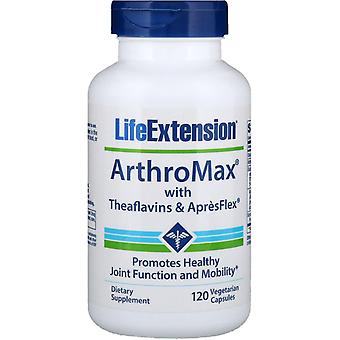 Life Extension, ArthroMax with Theaflavins and ApresFlex, 120 Vegetarian Capsule