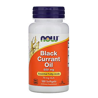 Now Foods, Black Currant Oil, 500 mg, 100 Softgels