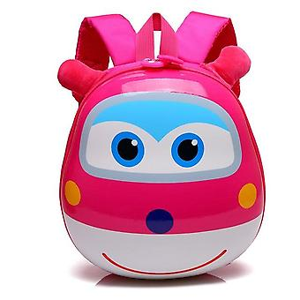 Children's Backpack 3d Cartoon Plush , Super Wings Kindergarten Schoolbag -