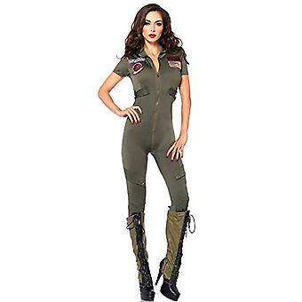 Top Gun Flight Suit Traje Adulto - Pequeno