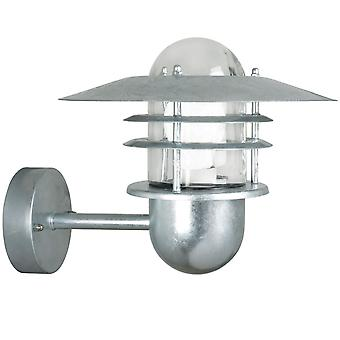 Galvanised Tiered Outdoor Wall Light - Nordlux Agger 74481031