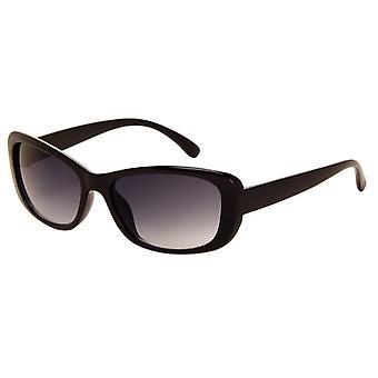 Sonnenbrille Damen    schwarz mit grauer Linse (270 P)
