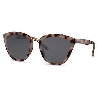 النظارات الشمسية المرأة فراشة كات. 3 الصدأ البني / الرمادي
