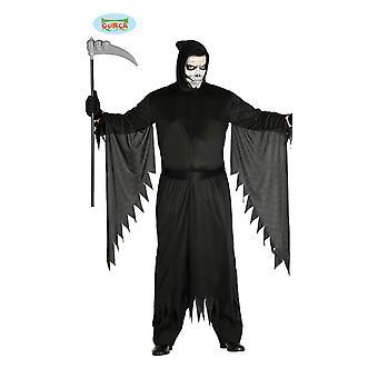 Mens di Grim reaper horror costume Halloween orrore Comare Morte