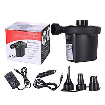 12v Dc Air Pump For Electric Intex Inflatable Air Mattress- Bed Boat Couch Pool Small Household R7rb