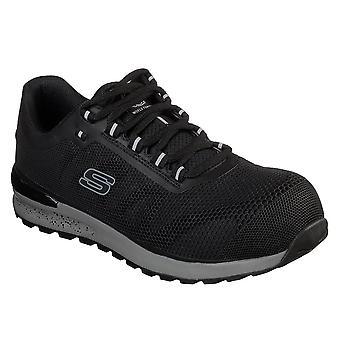 Skechers Herren Bulklin Comp nicht-Metallische Sicherheit Zehen EH sichere synthetische Schuhe