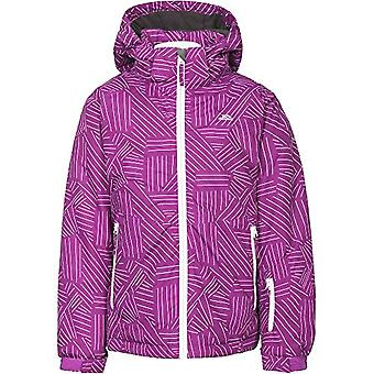 Trespass Girls Touchline Touch Fastening Hooded Ski Jacket