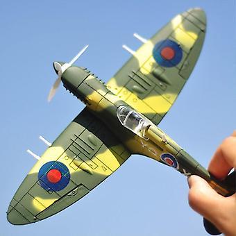 22 * 18cm تجميع مقاتلة نموذج لعب أدوات بناء مجموعات -- طائرة Diecast 1 /48