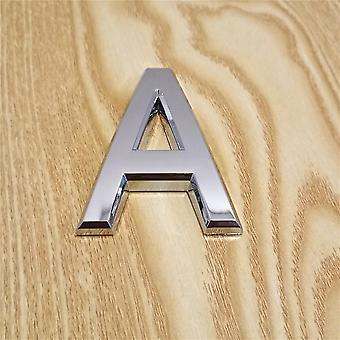 Modern Silver Plaque Number For House/hotel Address