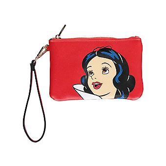 Snow White Purse Pouch Portrait Print new Official Disney Red