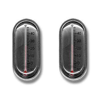 Krawatten Planet Thermometer Neuheit Manschettenknöpfe