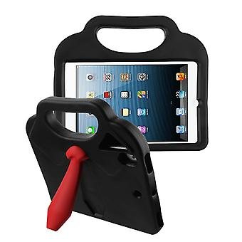 Tie Kids Drop-resistant Protector Cover for iPad Air (A1474,A1475,A1476) - Black