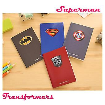 Creative Superman Batman Notepads - Kidsnotebooks