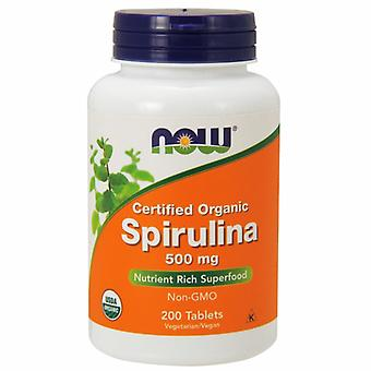 Now Foods Spirulina, 500 mg, 200 Tabs