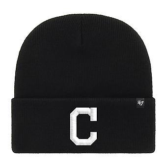 47 Brand Beanie Winter Hat - HAYMAKER Cleveland Indians