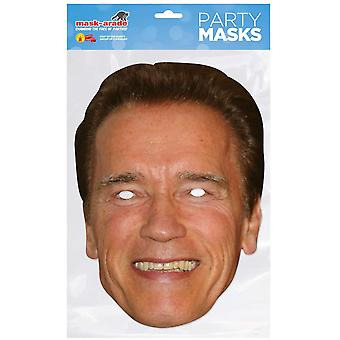 Mask-arade Arnold Schwarznegger Celebrities Party Face Mask