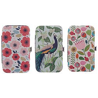 Botanical Poppy Autumn and Peacock Manicure Set