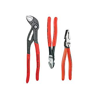 Knipex Power Pack High Leverage Plier Set 3 Piece KPX002010