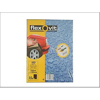 Flexovit Folhas de papel impermeáveis P400 63642558243