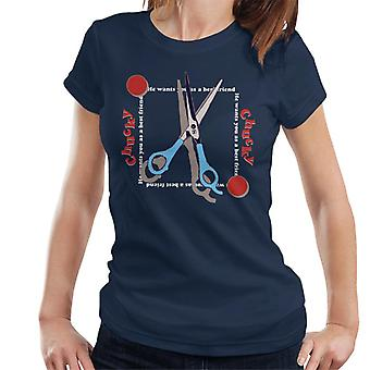 Chucky Beste Vriend Schaar Vrouwen's T-shirt