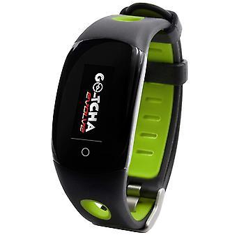 GO-TCHA Evolve Wristband for PokemonGo Datel - Green