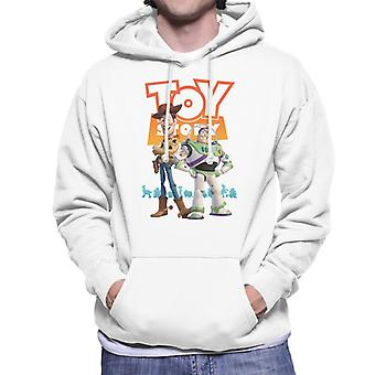 Pixar Toy Story Buzz And Woody Men's Hooded Sweatshirt