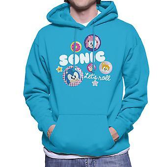 Sonic The Hedgehog Antaa roll miehet'huppari