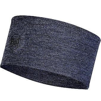 Buff Unisex Adultes Midweight Merino Wool Sports Headwear Bandeau - Night Blue