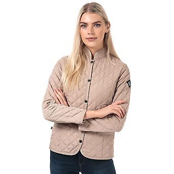 Women's Henri Lloyd Pier Quilted Jacket in Cream