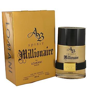 AB Spirit Millionaire by Lomani 200ml EDT Spray
