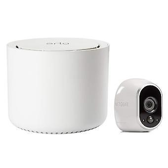 Arlo hd älykäs kodin turvakamerajärjestelmä | langaton wi-fi, yönäkö, sisä- tai ulkotilat, hd wom92681