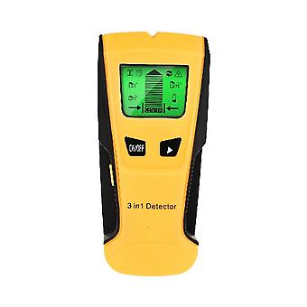 Metal Detector Find Metal Wood Studs Ac Voltage Live Wire Detect Wall Scanner