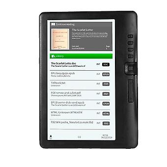 Portabil E-book Reader 8GB 7inch Multifuncțional E-reader Backlight & Lcd Display