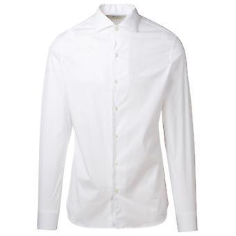 Z Zegna 805100zcso100 Men's White Cotton Shirt
