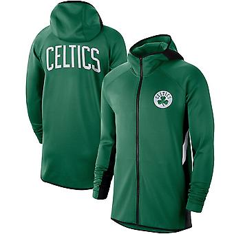 Boston Celtics Kelly Showtime Therma Flex Performance Full-zip Hoodie