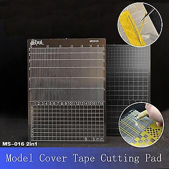 Model Making Gundom Transformation Tool - Cover Tape Cutting Pad