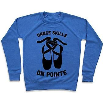 Dance skills on pointe crewneck sweatshirt