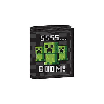 Minecraft Kids Ssss BOOM Wallet