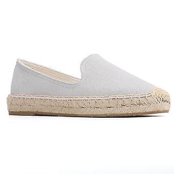 Flache Casual Schuhe, Gummi Sommer Damen, Slip on Flats Outdoor atmungsaktiv